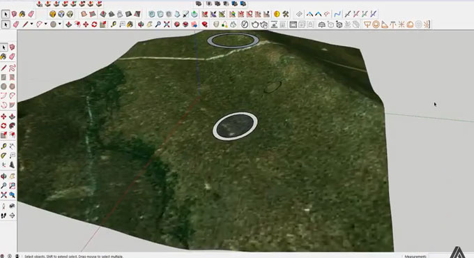Some useful tips to draw lines on sloped terrain
