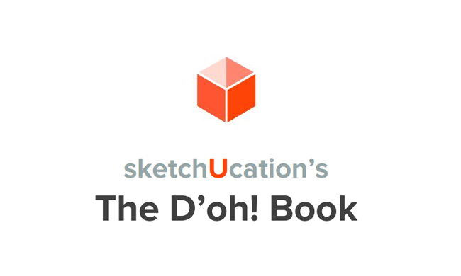 SketchUcation published the newest D'oh book for sketchup