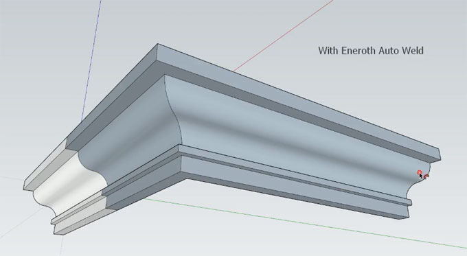 Eneroth Auto Weld – The newest sketchup plugin