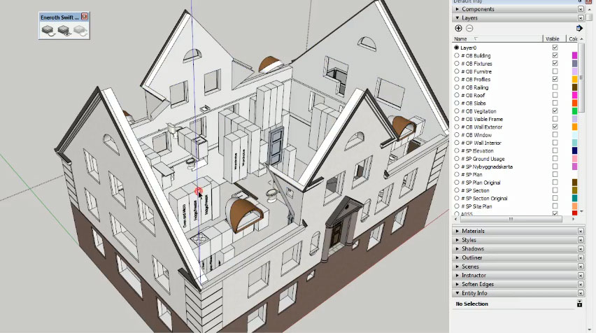 Eneroth Swift Layer Visibility Control – The newest sketchup plugin