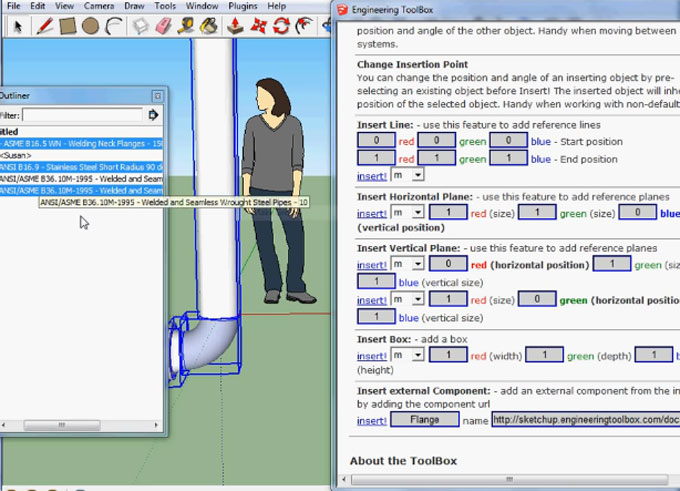 The Engineering ToolBox – 1 0 4 for sketchup – Sketchup World