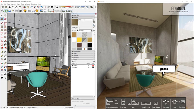 Enscape for SketchUp - Real-Time Rendering and Virtual Reality