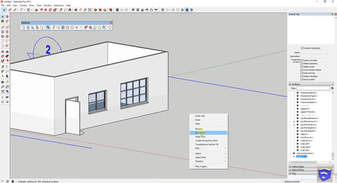 How to use FlexTools sketchup extension to create dynamic components within sketchup