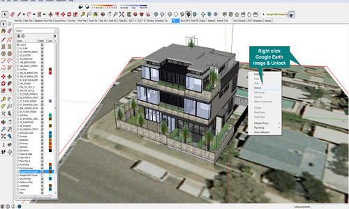 Google Earth developed with sketchup