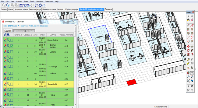 Inventory3D for Excel – The newest sketchup extension