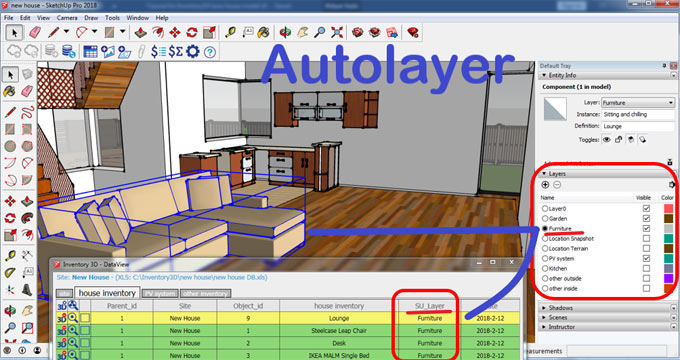 Inventory3D for Excel (6.0.1.57) – The newest extension available in extension warehouse