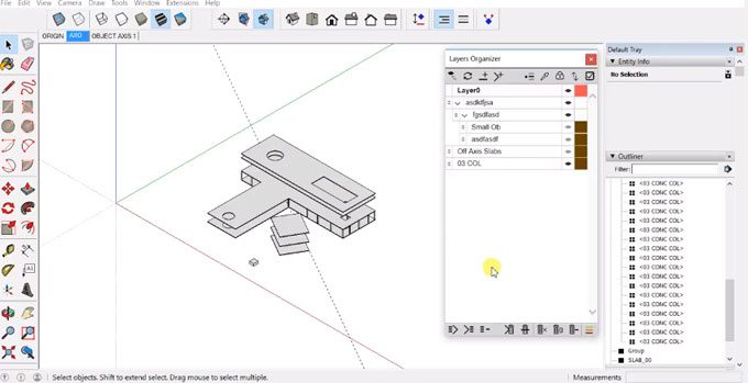 Layers Organizer for Sketchup – The newest sketchup plugin