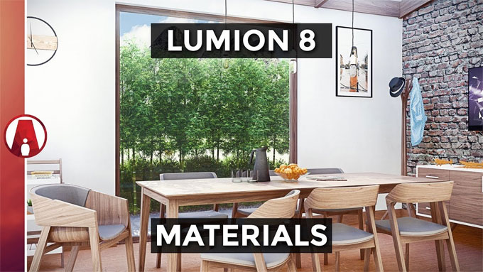 Some handy tips to create realistic materials in Lumion