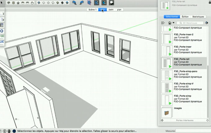 Mc-F3D – The newest sketchup plugin available in extension warehous