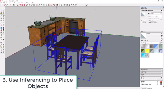 Some handy sketchup tips for newbie sketchup users