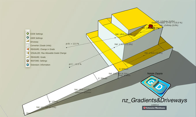nz_Gradients&Driveways – The newest sketchup extension