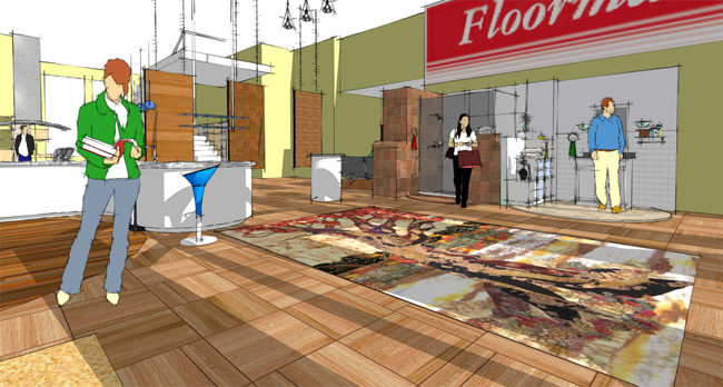 One day sketchup class for the interior designer