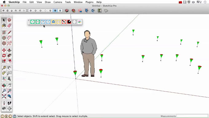 Point Gadget 2 (2016+) – The newest sketchup extension