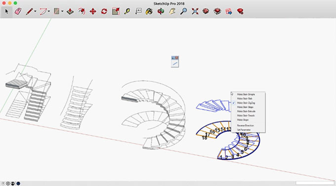 s4u Stair – The newest sketchup extension