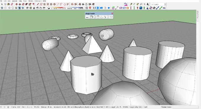 Shape Loader for SketchUp