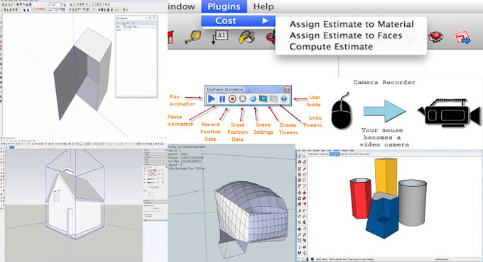 Some best sketchup animation plugin