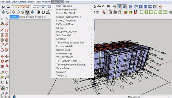 sketchup exporter to WebGL