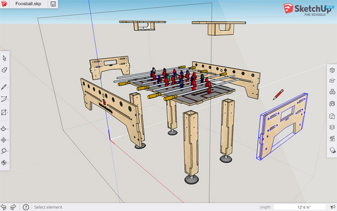 Sketchup For Schools – View sketchup in a web browser for Primary & Secondary School