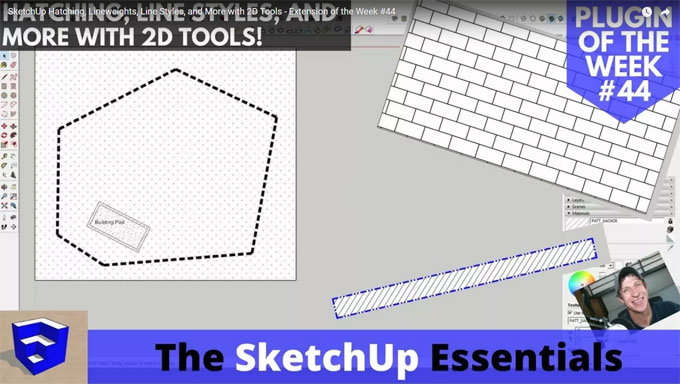 Demonstration of 2d Tools Plugin