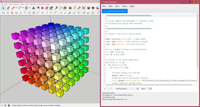 Ruby Code Editor – The newest sketchup plugin