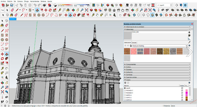 Some useful sketchup tips to improve your modelling skill with sketchup