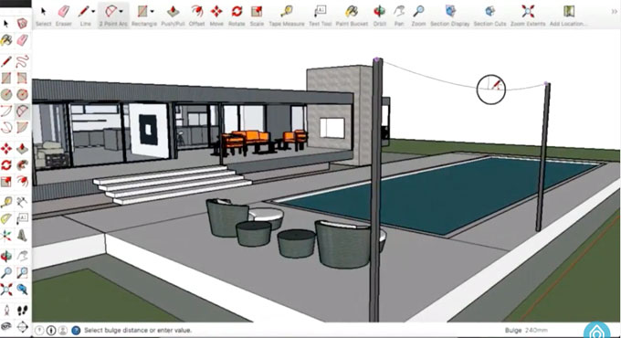 How to create 3D walkthrough animation of a building in real time virtual environment with sketchup & Kubity