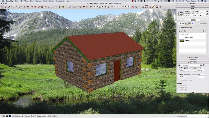 Learn the process for watermark rendering in sketchup