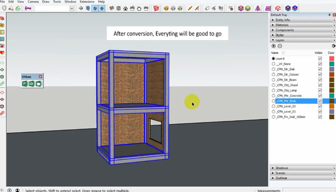 UV bim Report – The newest sketchup extension