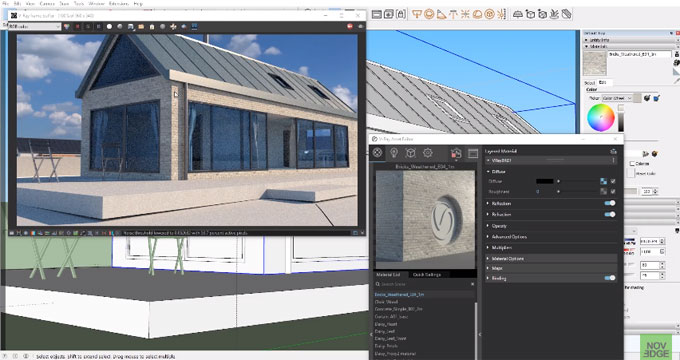How to create new design scopes in sketchup with v-ray 3.6 and VR Scans