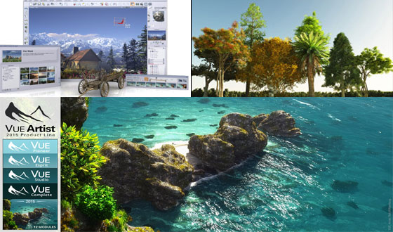 E-on Software launched new series of VUE 2015 to improve the workflow of 3D artists & 3D Enthusiasts.