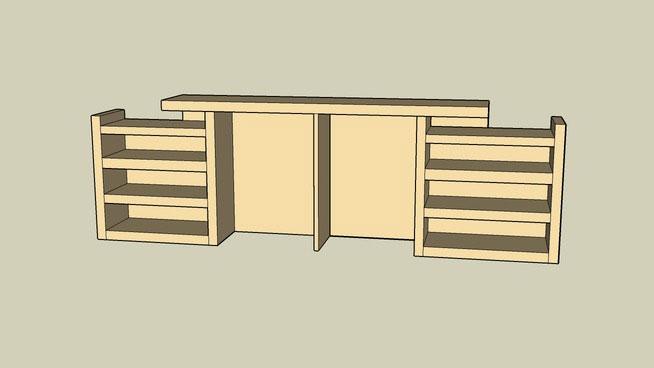 Malm Bookshelf Headboard