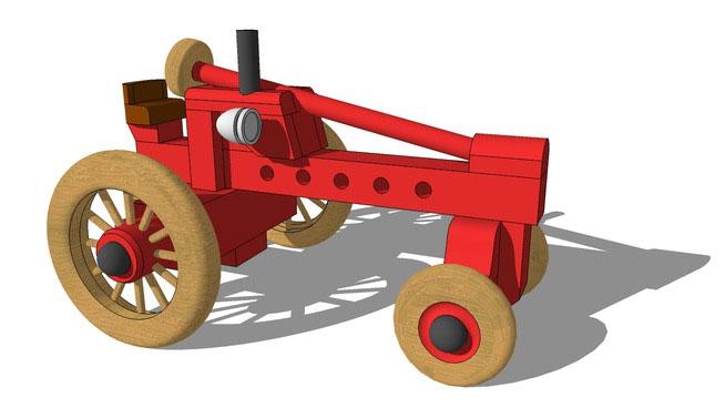 Toy Garden Tractor