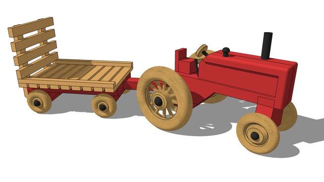 Hay Wagon Toy