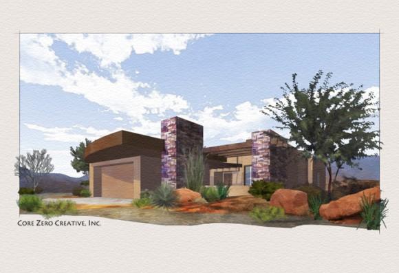 Spotlight - Tina Anne Styles - Architectural illustrations