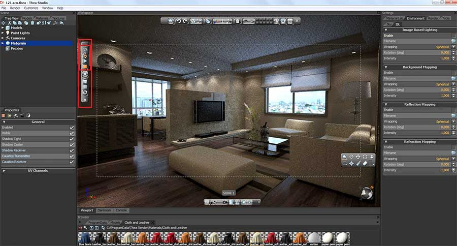 Making Of High Rise Apartment SketchUp 3D Rendering