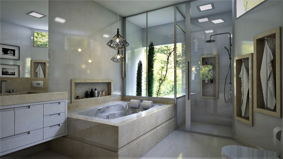 Free 3D Models - BATHROOM - Master Bathroom - by ... on Bathroom Models  id=36983