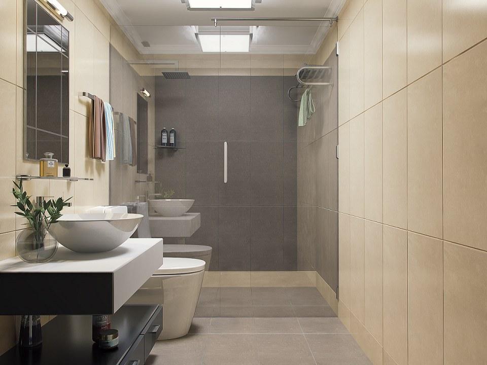 Free 3D Models - BATHROOM - BATHROOM & VISOPT - by Hữu Phước on Model Bathroom Ideas  id=29609