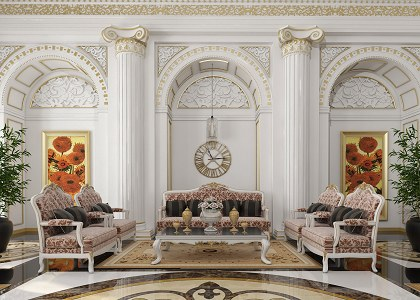 Free 3D Models LIVING ROOM LIVING ROOM CLASSIC STYLE