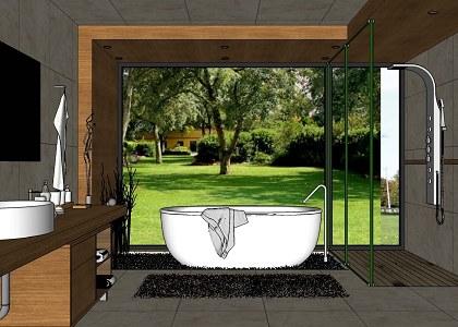 Free 3D Models - BATHROOM - MODERN BATHROOM & VISOPT - by ... on Bathroom Model Design  id=67677