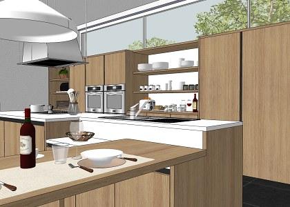 Free 3D Models - KITCHEN - MODERN KITCHEN KALI ITALIAN ... on Modern Model Kitchen  id=85195