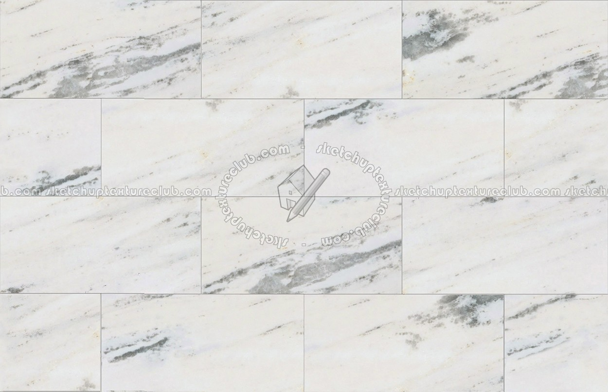 Polaris White Marble Floor Tile Texture Seamless