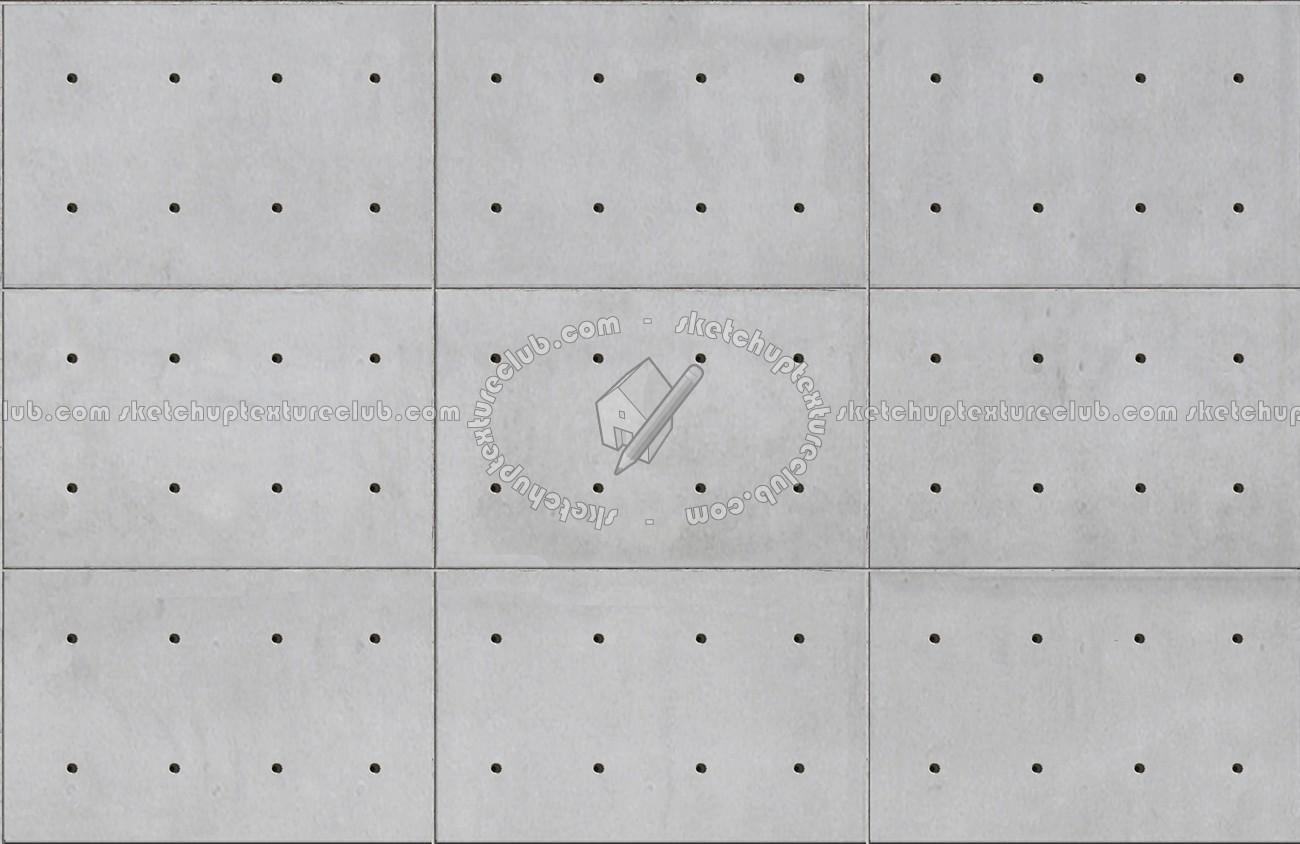 Tadao Ando Concrete Plates Seamless