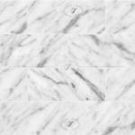 Carrara White Marble Tile Veined Texture Seamless 20918