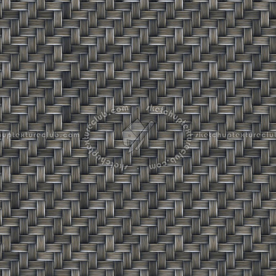 Synthetic Woven Wicker Texture Seamless 12574