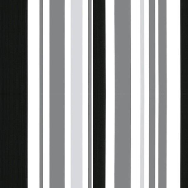 Black And White Striped Kitchen Decor