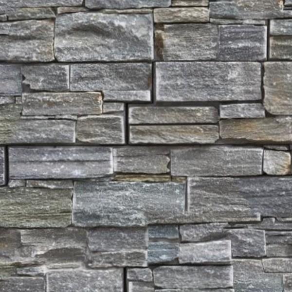 Stone Cladding Internal Walls Texture Seamless 08100