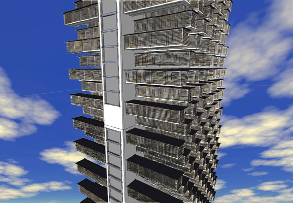 SketchUp Tower, Basic Techniques