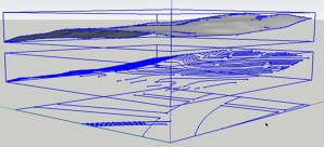 Using Imported Civil DWG Parking Layouts to Drape onto a