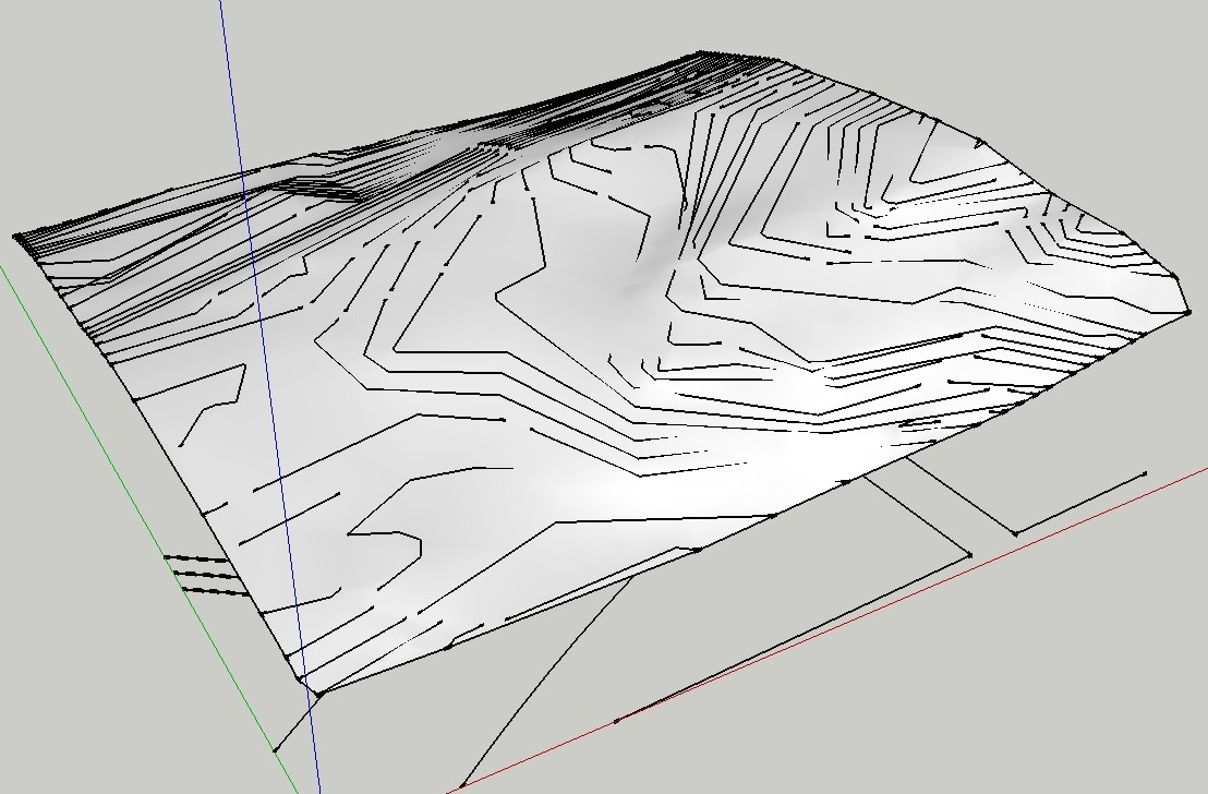 Contour Line Drawing In Autocad : Autocad tips and techniques