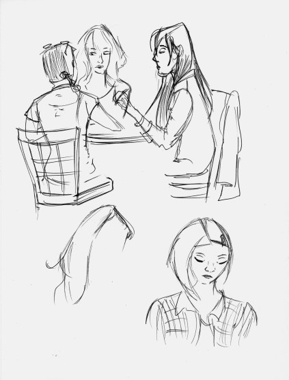 Cafe Sketches 1